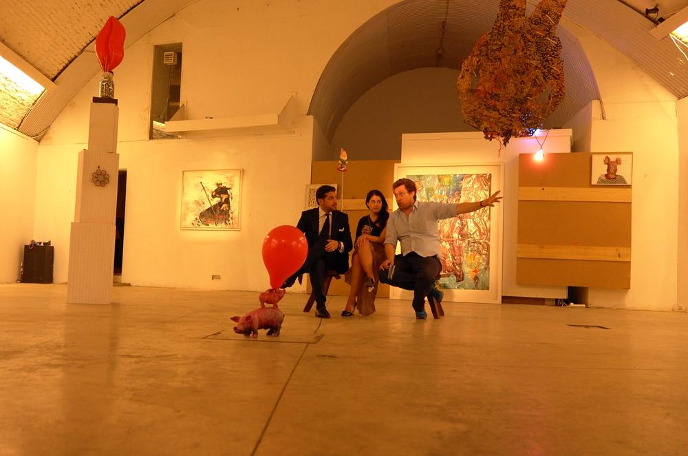 The Twisted Odyssey, Underdog Gallery, London.